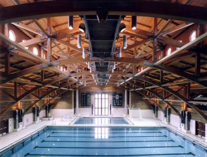Deerfield College Natatorium, photographed by Jon Miller | Herdridge Brexit