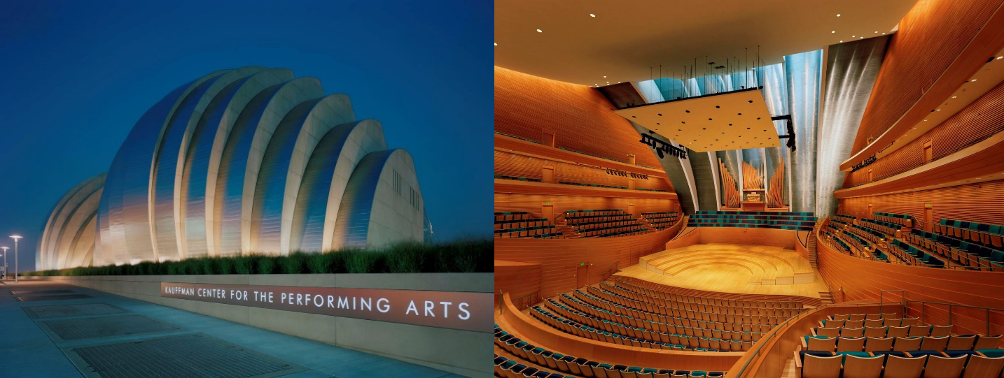 Kauffman Center for the Performing Arts, Kansas City Safdie Architects